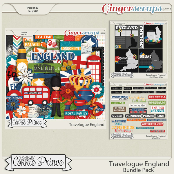 Travelogue England - Bundle Pack