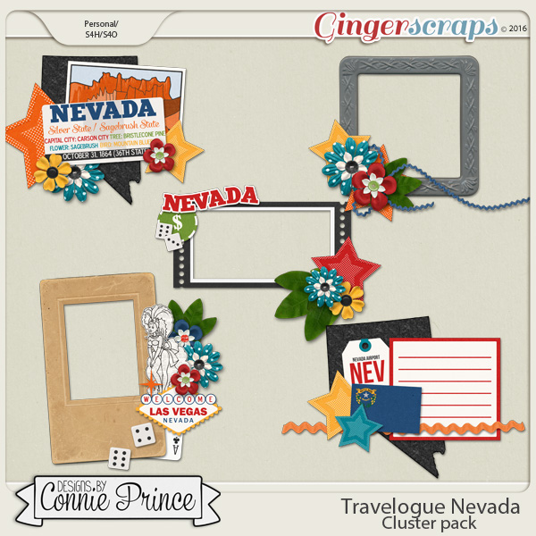 Travelogue Nevada - Cluster Pack