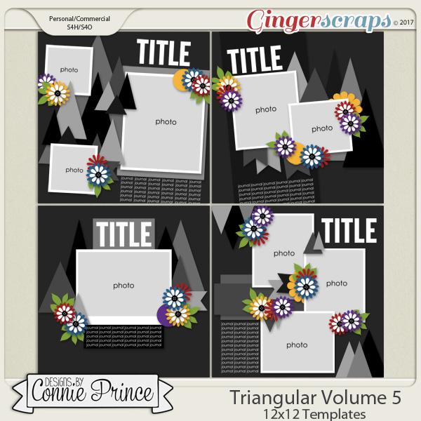Triangular Volume 5 - 12x12 Temps (CU Ok) by Connie Prince