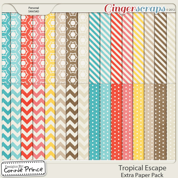 Retiring Soon - Tropical Escape - Extra Papers