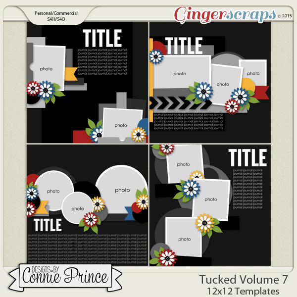 Tucked Volume 7 - 12x12 Temps (CU Ok)