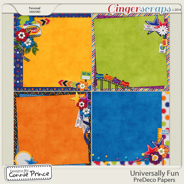 Universally Fun - PreDeco Papers