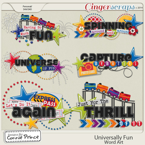 Universally Fun - Word Art