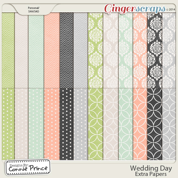 Wedding Day - Extra Papers