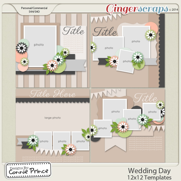 Wedding Day - 12x12 Temps (CU Ok)