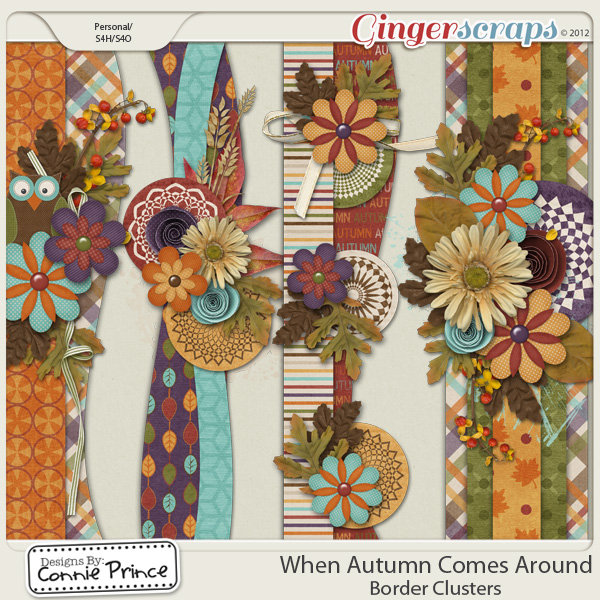 Retiring Soon - When Autumn Comes Around - Border Clusters