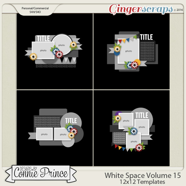 White Space Volume 15 - 12x12 Temps (CU Ok)