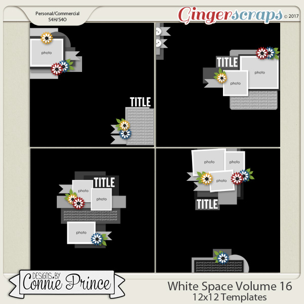 White Space Volume 16 - 12x12 Temps (CU Ok)
