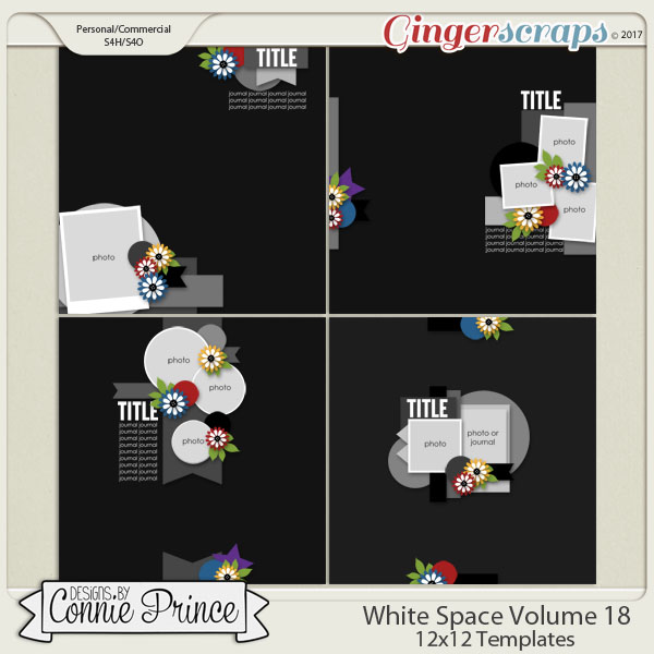 White Space Volume 18 - 12x12 Temps (CU Ok)