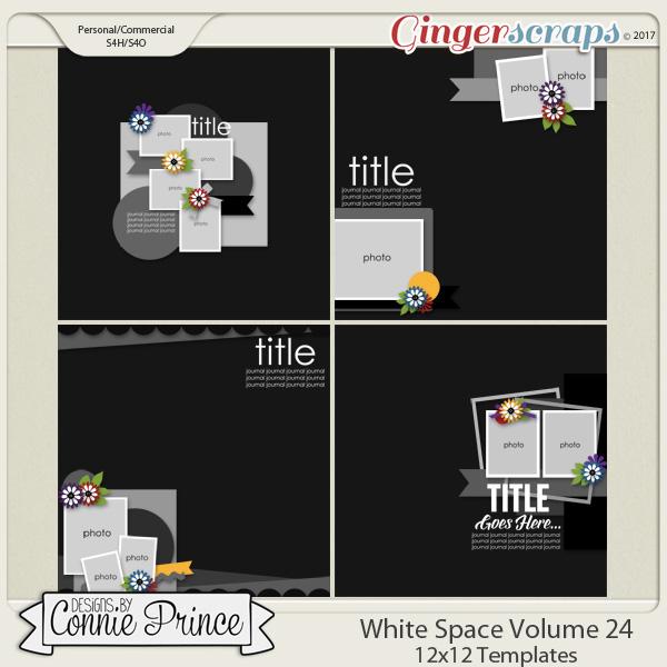 White Space Volume 24 - 12x12 Temps (CU Ok)