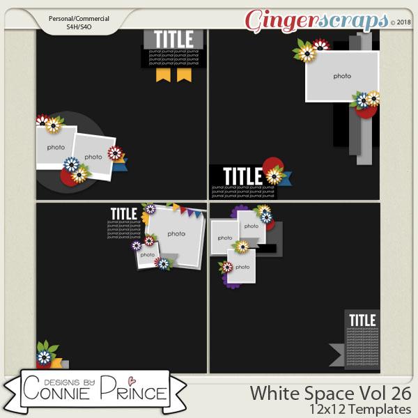White Space Volume 26 - 12x12 Temps (CU Ok) by Connie Prince