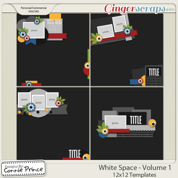 White Space Volume 1 - 12x12 Temps (CU Ok)