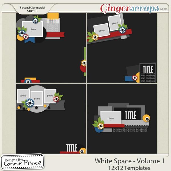White Space Volume 1 - 12x12 Temps (CU Ok)