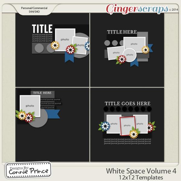 White Space Volume 4 - 12x12 Temps (CU Ok)