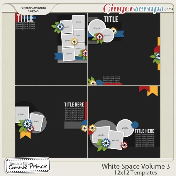 White Space Volume 3 - 12x12 Temps (CU Ok)