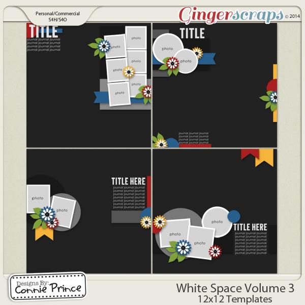 White Space Volume 3 - 12x12 Temps (CU Ok)
