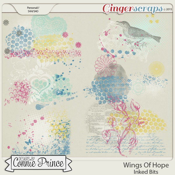 Wings Of Hope - Inked Bits