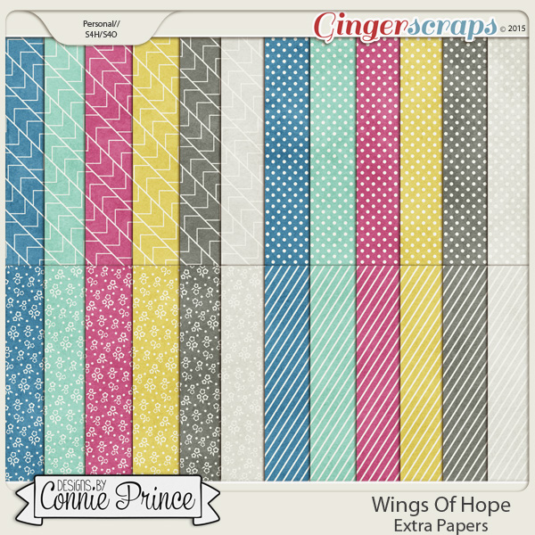 Wings Of Hope - Extra Papers