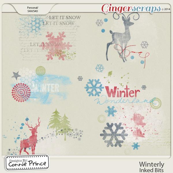Winterly - Inked Bits
