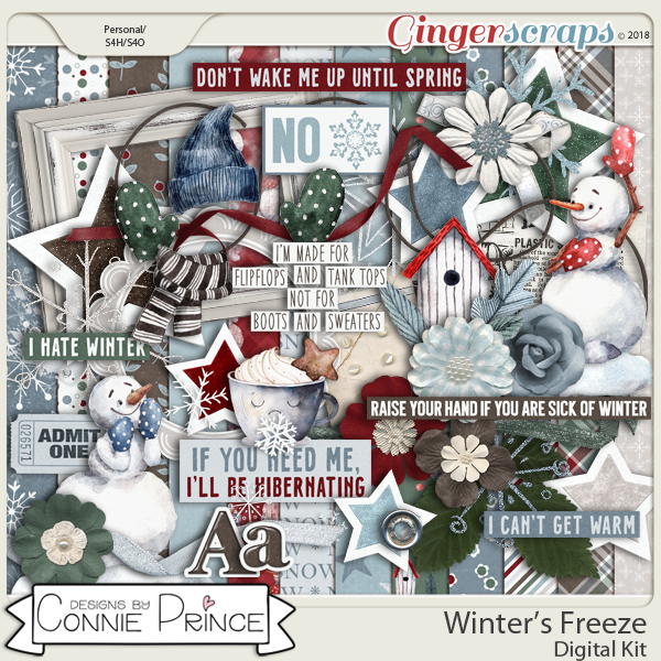 Winter's Freeze - Kit by Connie Prince