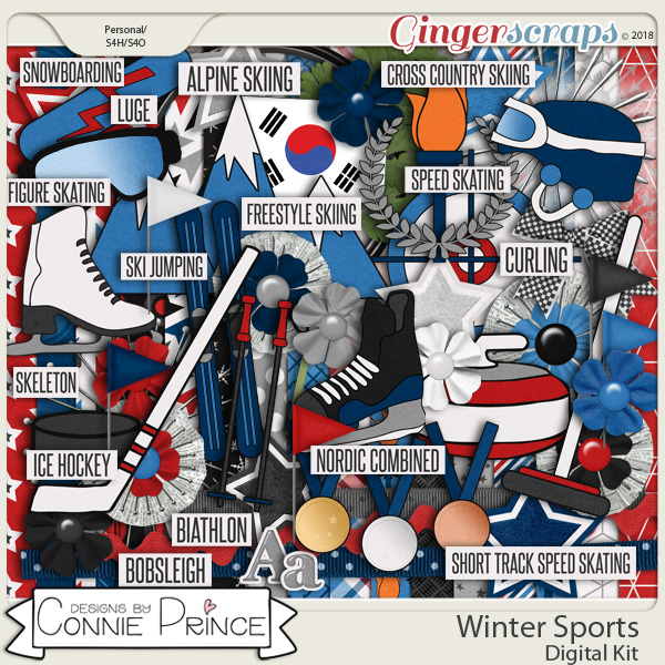 Winter Sports - Kit by Connie Prince