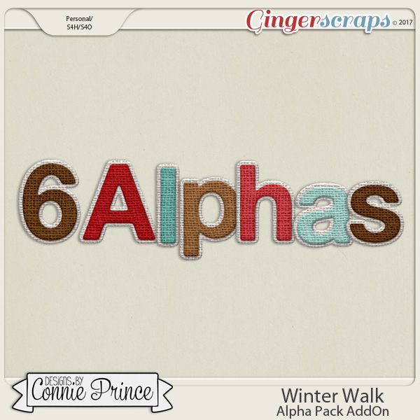 Winter Walk - Alpha Pack AddOn by Connie Prince