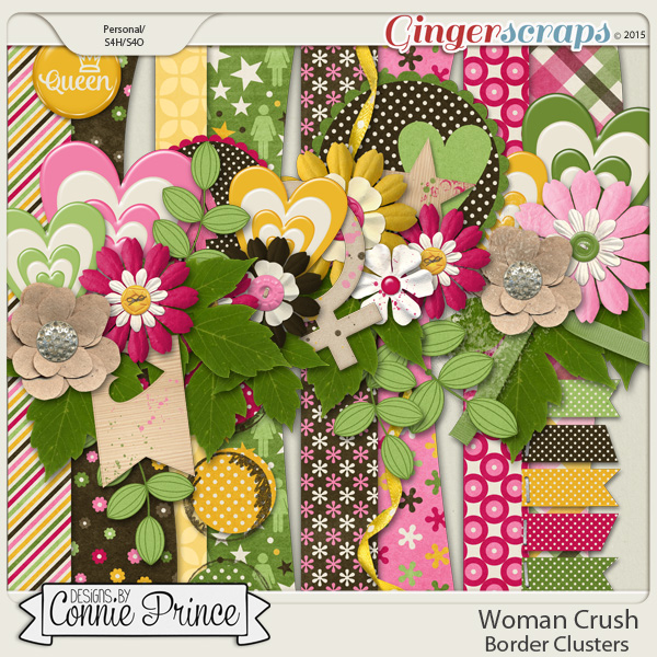 Woman Crush - Border Clusters