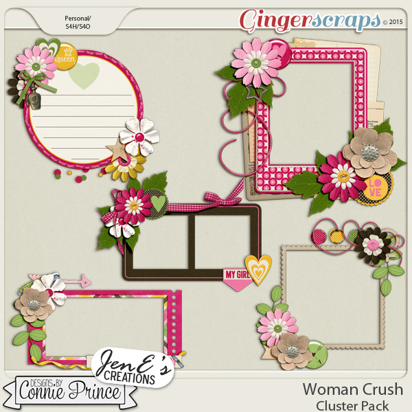 Woman Crush - Cluster Pack