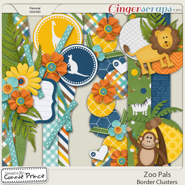 Zoo Pals - Border Clusters