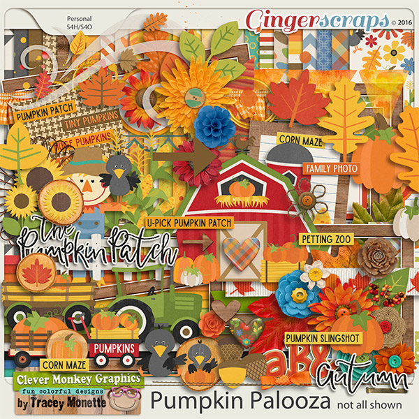 Pumpkin Palooza by Clever Monkey Graphics