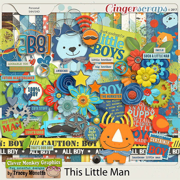 This Little Man by Clever Monkey Graphics