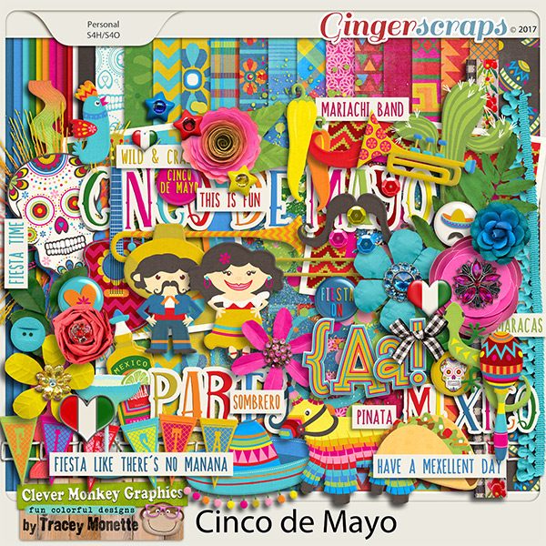 Cinco de Mayo by Clever Monkey Graphics
