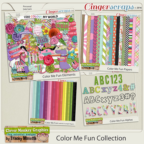Color Me Fun Collection by Clever Monkey Graphics