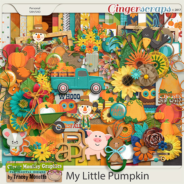 My Little Pumpkin by Clever Monkey Graphics