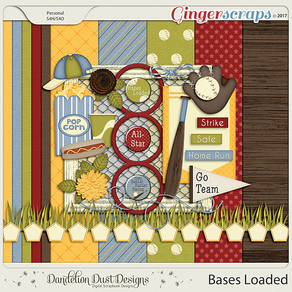 Bases Loaded by Dandelion Dust Designs