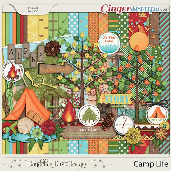 Camp Life By Dandelion Dust Designs