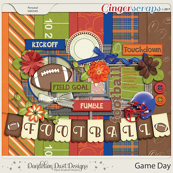 Game Day By Dandelion Dust Designs