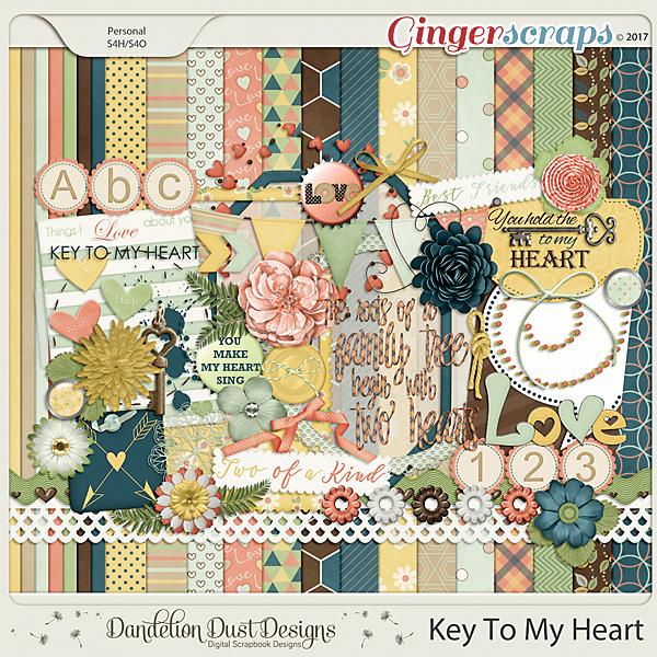 Key To My Heart By Dandelion Dust Designs