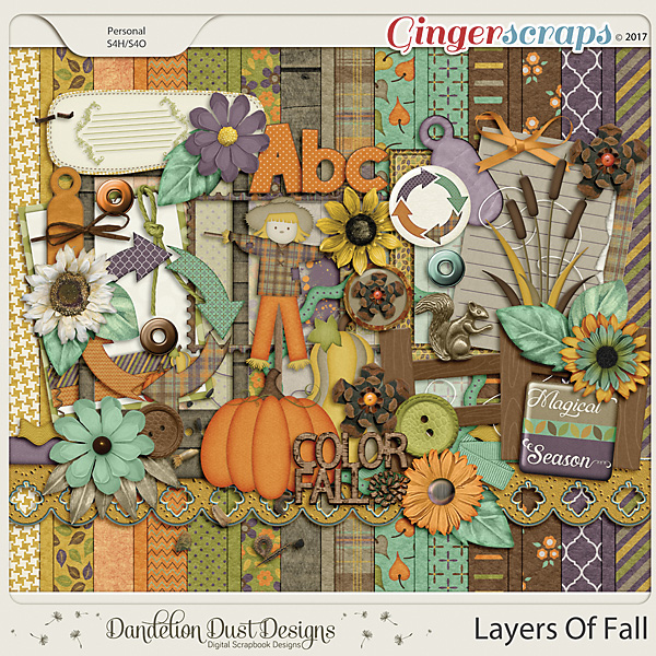 Layers Of Fall By Dandelion Dust Designs