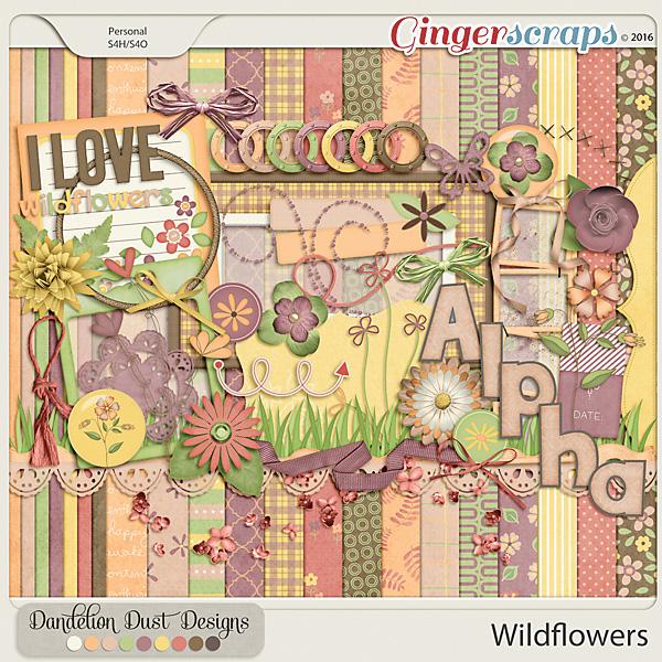 Wildflowers By Dandelion Dust Designs