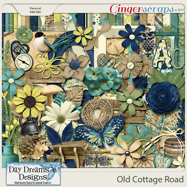 Old Cottage Road {Kit} by Day Dreams 'n Designs