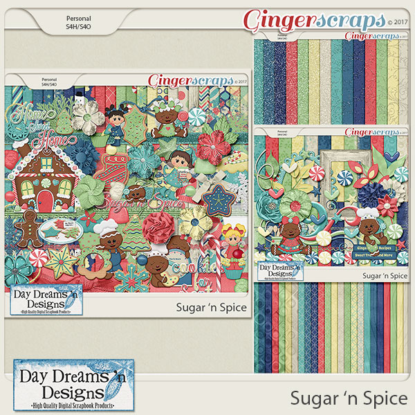 Sugar 'n Spice {Bundled Collection} by Day Dreams 'n Designs