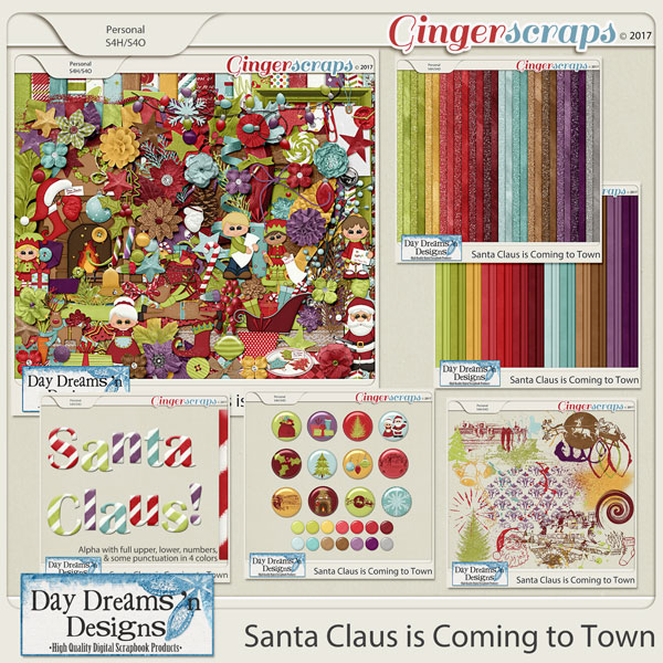 Santa Claus is Coming to Town {Bundled Collection} by Day Dreams 'n Designs