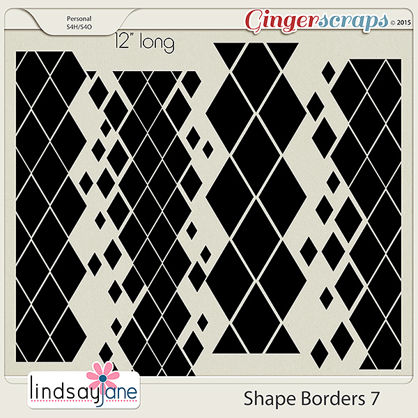 Shape Borders 7 by Lindsay Jane