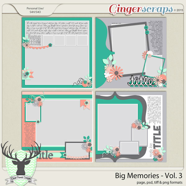 Big Memories Vol 3