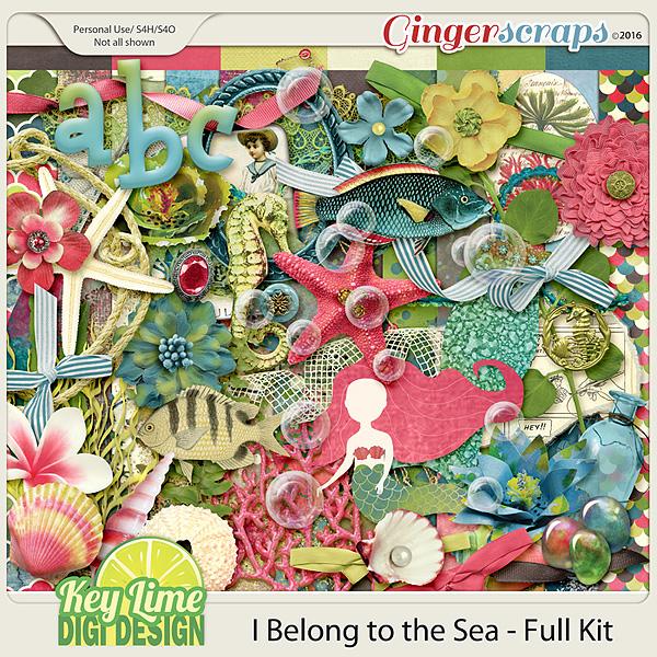 I Belong to the Sea - Kit