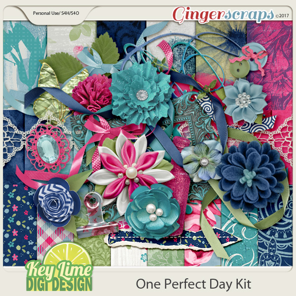 One Perfect Day Kit by Key Lime Digi Design