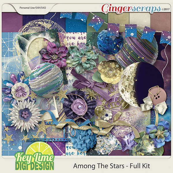 Among The Stars Kit by Key Lime Digi Design