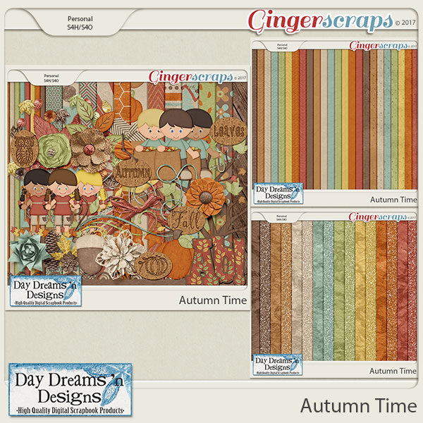Autumn Time {Bundled Collection} by Day Dreams 'n Designs