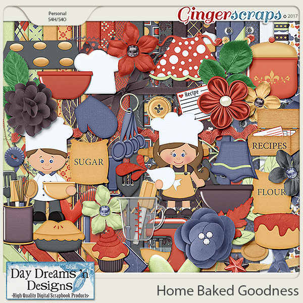 Home Baked Goodness {Kit} by Day Dreams 'n Designs